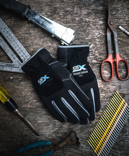 GRX Gloves, Comfort. Fit. Performance.
